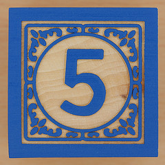 Number 5 Brick