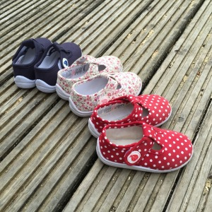 Jo Jo Maman Bebe Canvas Summer Shoes Side Shot