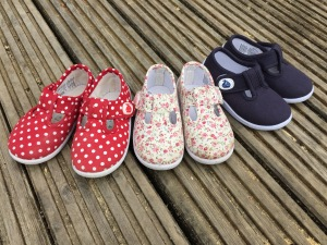 Jo Jo Maman Bebe Canvas Summer Shoes Front Shot