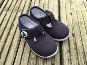 Jo Jo Maman Bebe Canvas Summer Shoes Navy